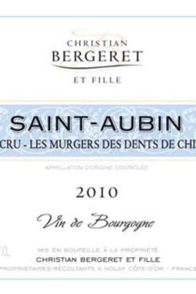 Christian Bergeret Saint Aubin Les Murger Des Dents De Chien 1er Cru