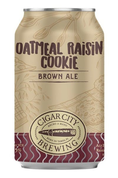 Cigar City Brewing Oatmeal Raisin Cookie Ale