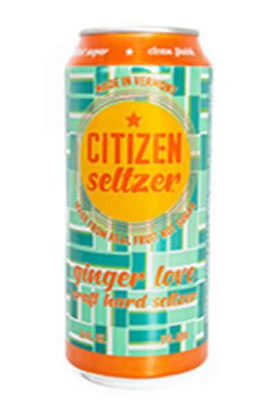 Citizen Ginger Love Seltzer