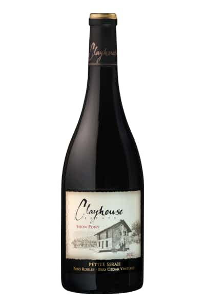Clayhouse Estate Show Pony Petite Sirah (LAWF discounted price)