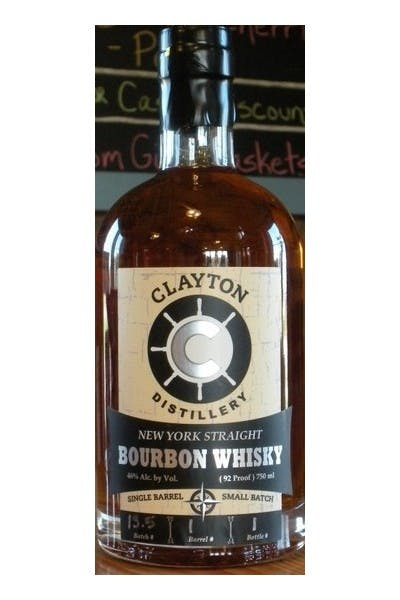 Clayton Small Batch Bourbon Whiskey