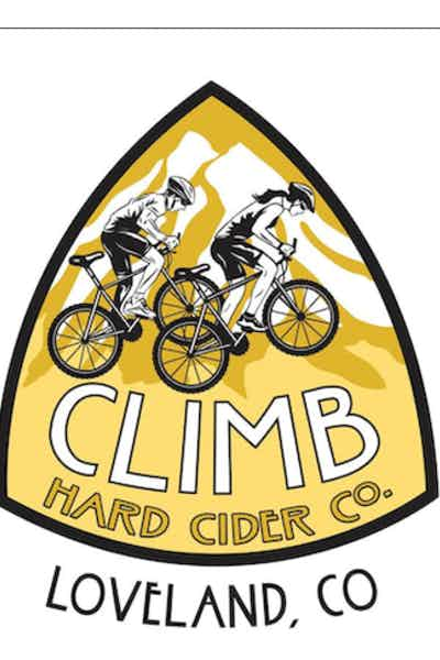 Climb Hard Cider Peach Cider
