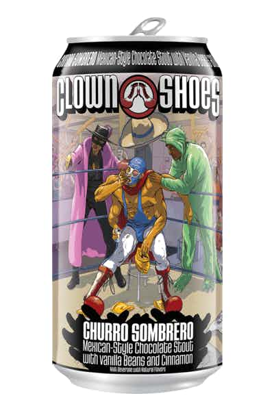 Clown Shoes Churro Sombrero
