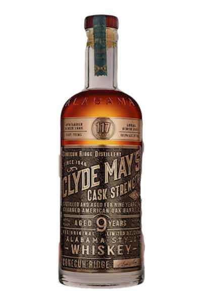 Clyde May's Cask Strength 10 Year