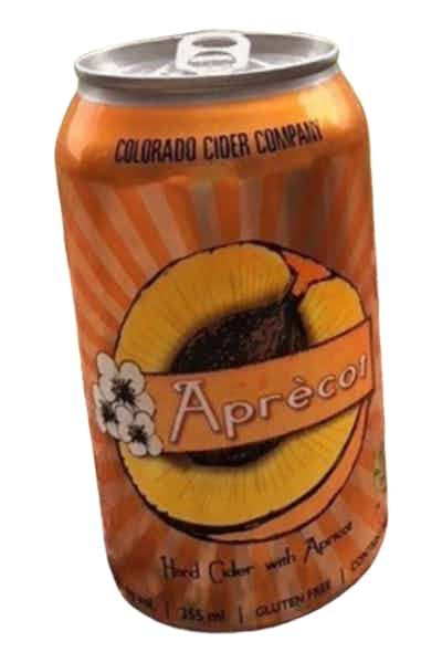 Colorado Cider Company Aprecot Hard Cider