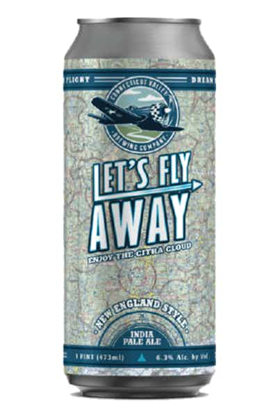Connecticut Valley Let's Fly Away New England IPA