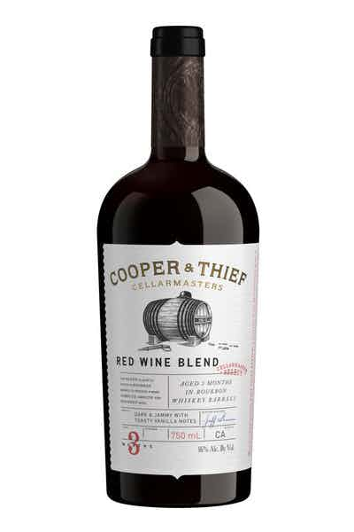 Cooper and Thief Bourbon Barrel Aged Red Blend Red Wine