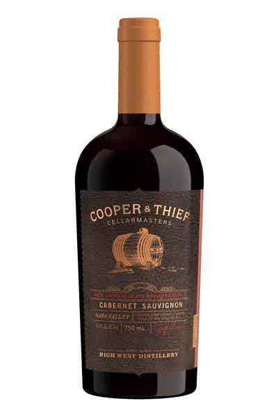 Cooper and Thief Napa Valley Rye Barrel Aged Cabernet Sauvignon Red Wine