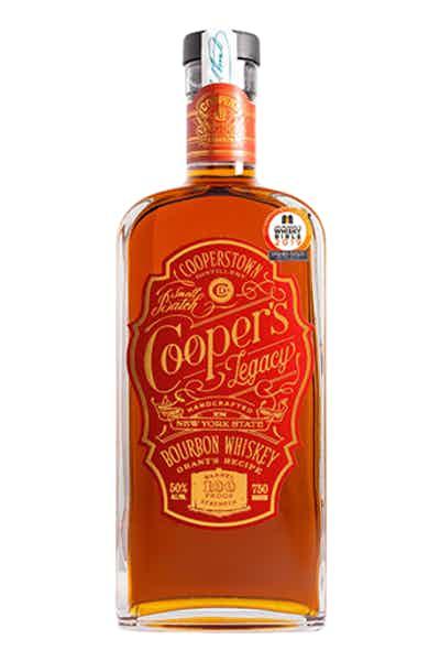 Cooperstown Distillery Cooper's Legacy Bourbon
