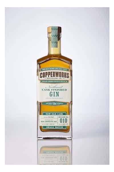 Copperworks New Oak Cask Finished Gin