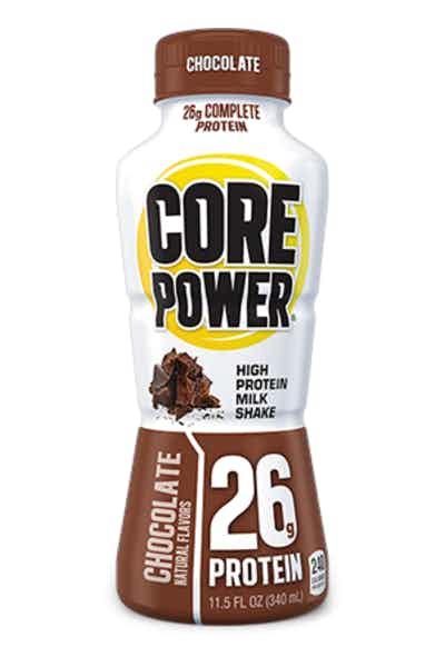 Core Power Chocolate .