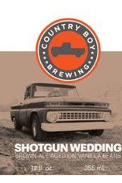 Country Boy Shotgun Wedding