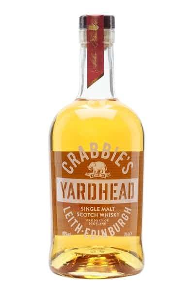 Crabbie's Yardhead Single Malt Scotch Whiskey