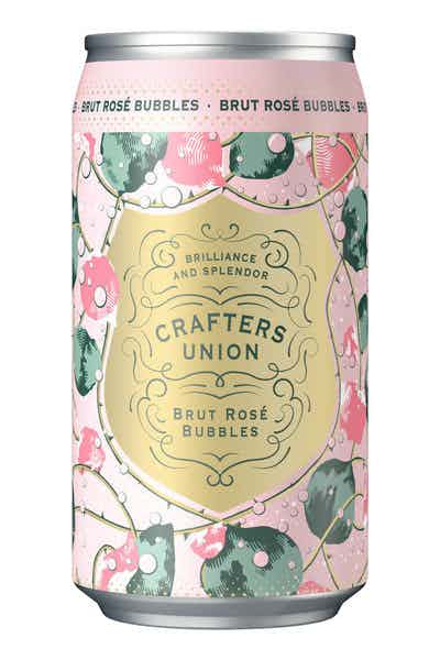 Crafters Union Brut Sparkling Rose Bubbles Can