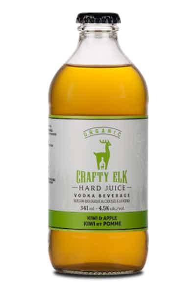 Crafty Elk Kiwi & Apple Organic Hard Juice