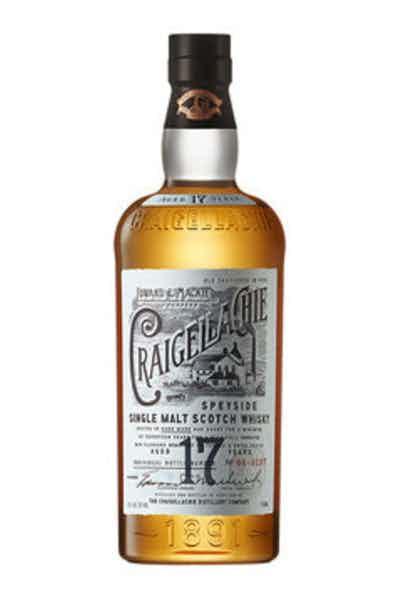 Craigellachie® 17 Year Old Single Malt Scotch Whisky