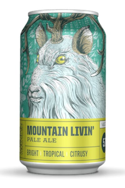 Crazy Mountain Livin' Pale Ale