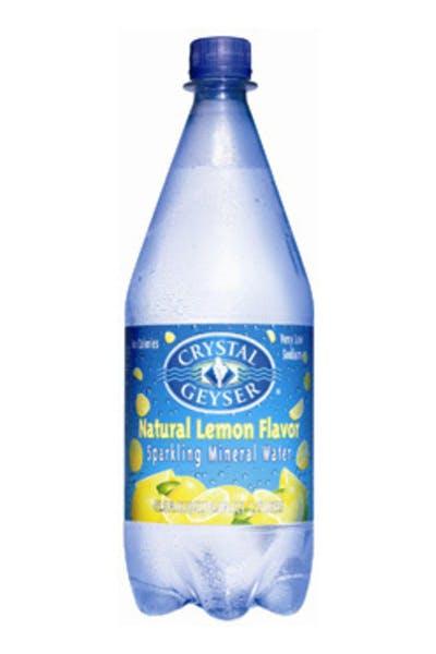 Crystal Geyser Lemon Mineral Water
