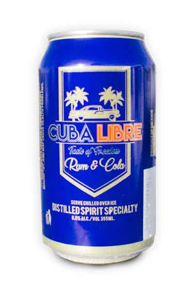 Cuba Libre Rum And Cola