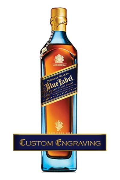 Custom Engraved Johnnie Walker Blue Label
