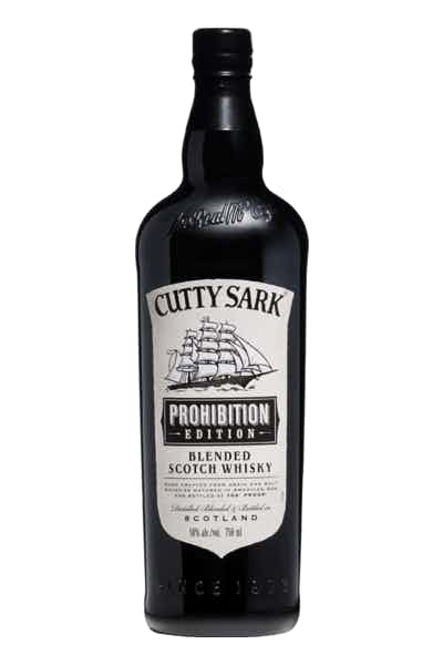 Cutty Sark Blended Scotch Whisky Prohibition Edition