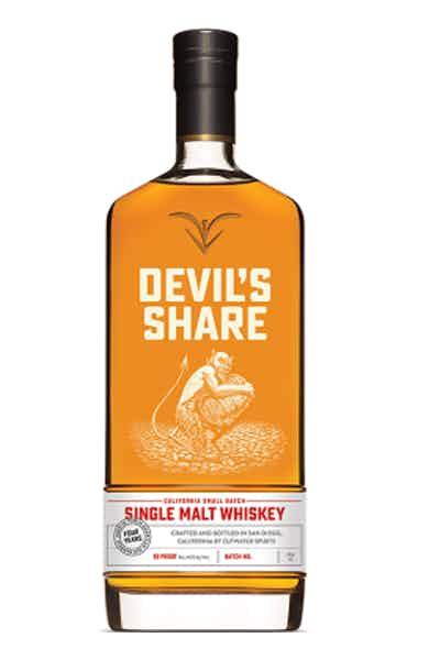 Cutwater Devils Share Single Malt Whiskey