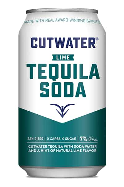 Cutwater Lime Tequila Soda