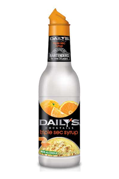 Daily's Triple Sec Syrup