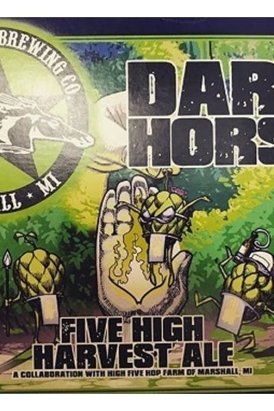 Dark Horse Five High Harvest Ale