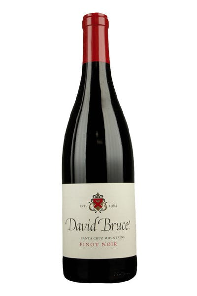 David Bruce Pinot Noir Santa Cruz Mountains