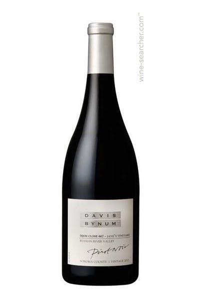 Davis Bynum Clone 667 Pinot Noir 2012