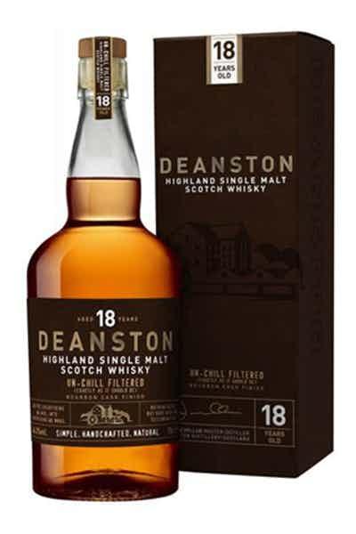 Deanston 18 Year Old Single Malt Scotch