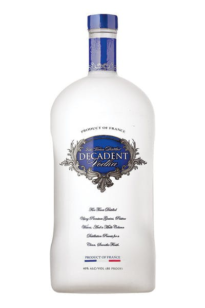 Decadent Vodka