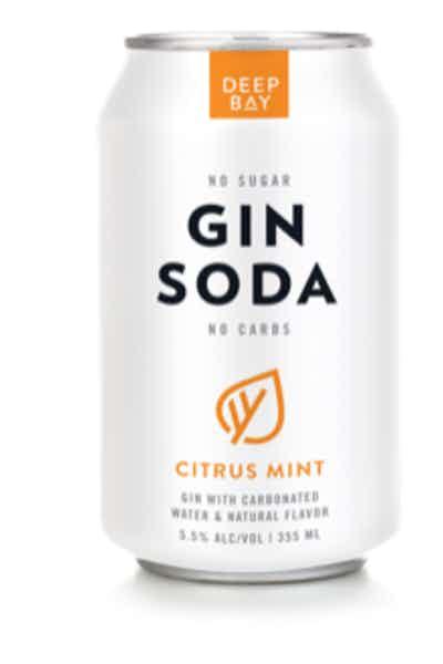 Deep Bay Spirits Gin Soda Citrus Mint