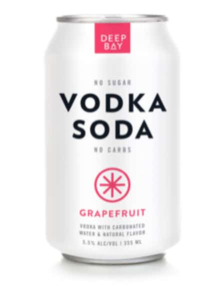 Deep Bay Spirits Vodka Soda Grapefruit