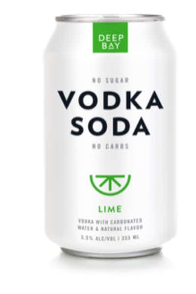 Deep Bay Spirits Vodka Soda Lime