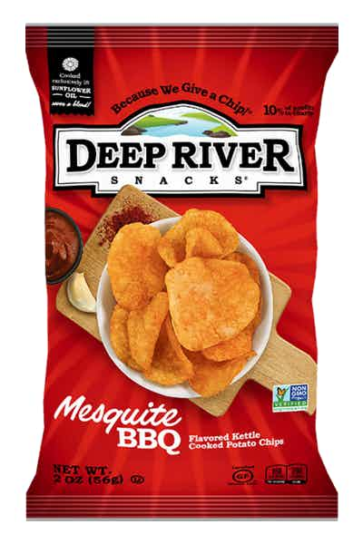 Deep River Mesquite BBQ Chips