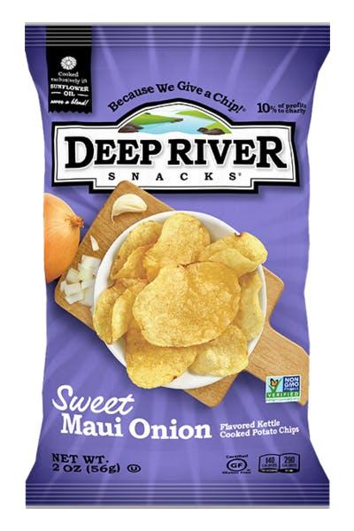 Deep River Sweet Maui Onion Potato Chips