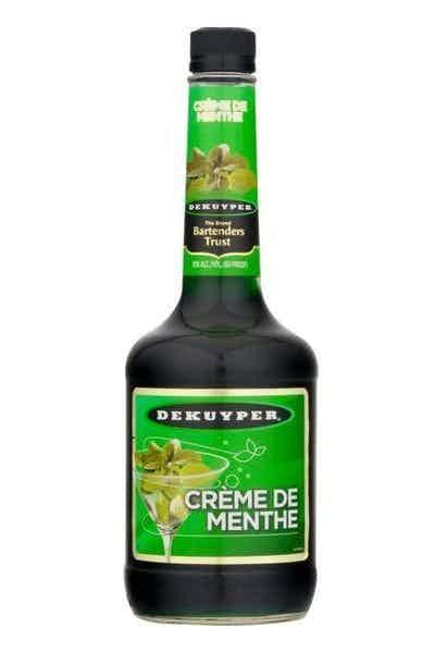 DeKuyper Creme de Menthe Green Liqueur