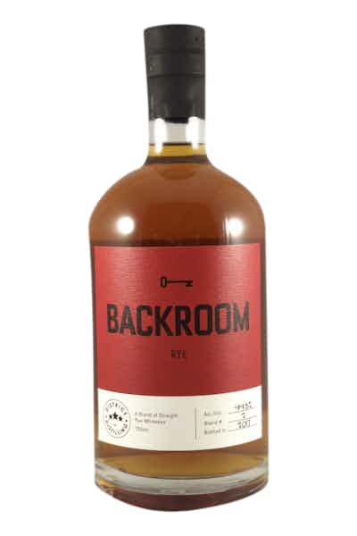 District Distilling Backroom Rye