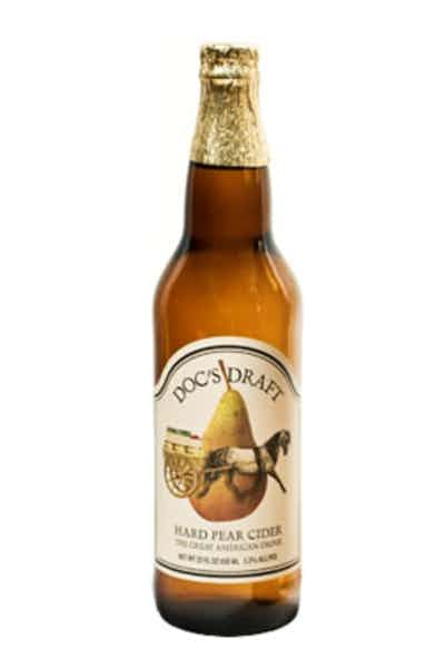 Doc's Pear Hard Apple Cider