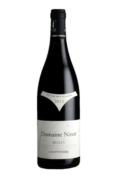 Domaine Ninot Rully Bourgogne Rouge Chaponniere