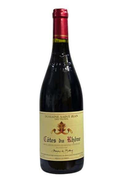 Domaine Saint Jean des Vignes Cotes du Rhone
