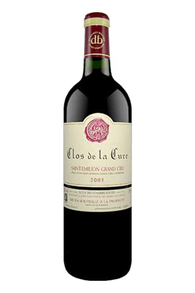 Domaines Bouyer Clos De La Cure St. Emilion Grand Cru France