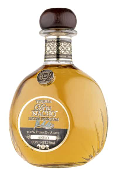 Tequila Don Nacho Extra Premium Añejo 100% Pure of Agave