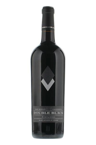 Double Black Zinfandel Paso Robles