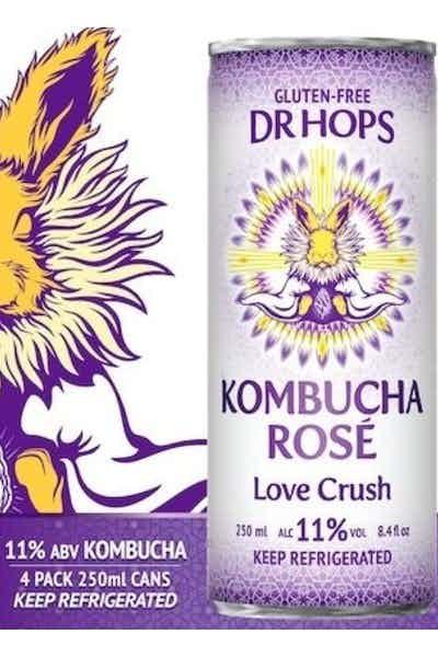 Dr Hops Kombucha - Rose Love Crush