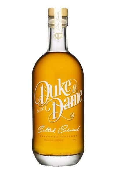 Duke & Dame Salted Caramel Flavored Whiskey