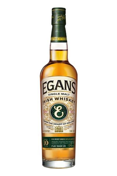 Egan's Single Malt Irish Whiskey 10 Year