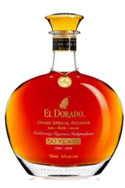 El Dorado Grand Special Reserve 50 Year Rum